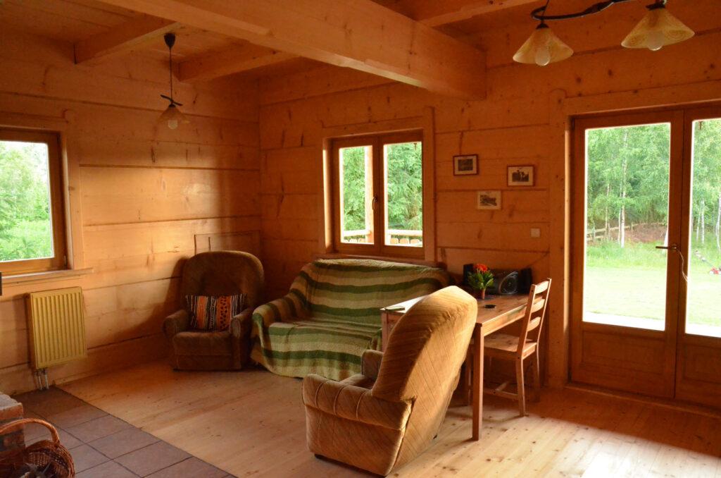 góralski dom nad jeziorem - Mazury Nasy jezioro Dadaj
